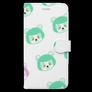 ササハウスの妖精のマトマル スマホケース Book-style smartphone case