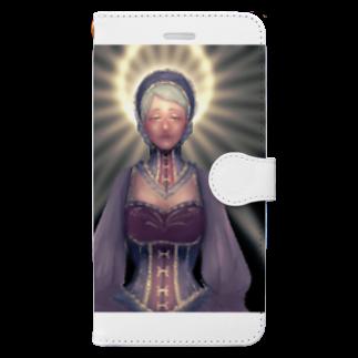 ℃星の光。 Book-style smartphone case