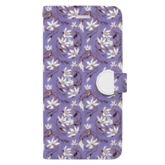 【Magnolia/マグノリア】 ウィスタリア Book-style smartphone case