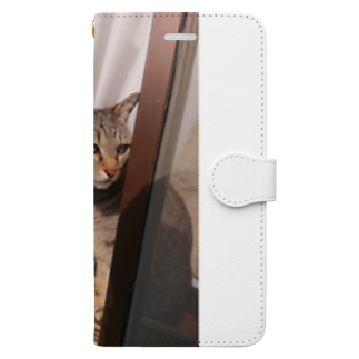 田中徳和の愛猫ミミさん Book-style smartphone case