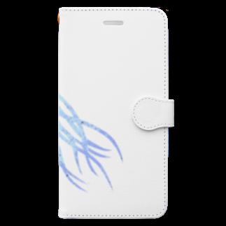 minaponzのクラゲさん Book-style smartphone case