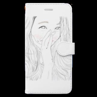 yAyuyo(やゆよ)のテレテル Book-style smartphone case