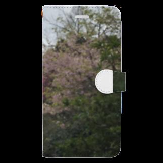 Pakiraの春ですねぇ Book-style smartphone case