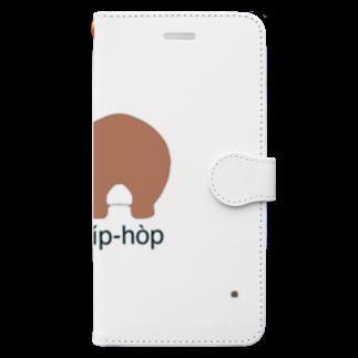 Atomatomのヒップホップ Book-style smartphone case