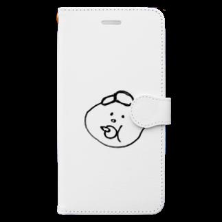 157_imのマイベイビー Book-style smartphone case