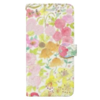 garden dream Book-style smartphone case