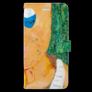 谷このみのちんあごおじさん Book-style smartphone case