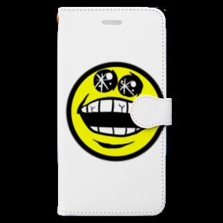 ぼんだぁのスマさん Book-style smartphone case