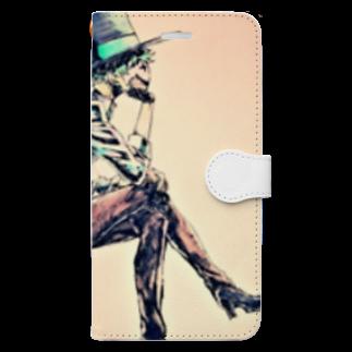 百田のJackくん Book-style smartphone case