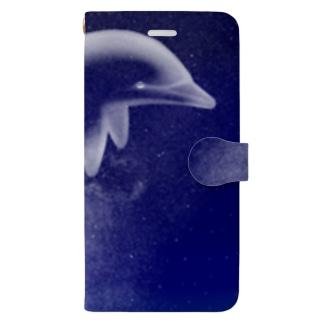 イルカ座 Book-style smartphone case