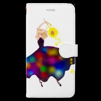 くらたまみの2017年のラビリンス Book-style smartphone case