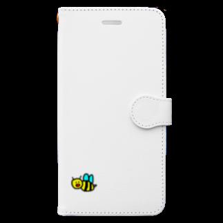 はむこストアのハチコちゃん Book-style smartphone case