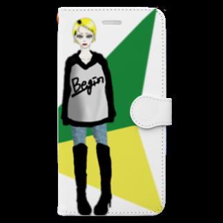 斎藤さいのお店のBegin! Book-style smartphone case