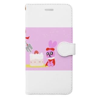 乙女兎 Book-style smartphone case