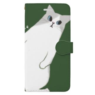 ラグドールのクィーン Book-style smartphone case