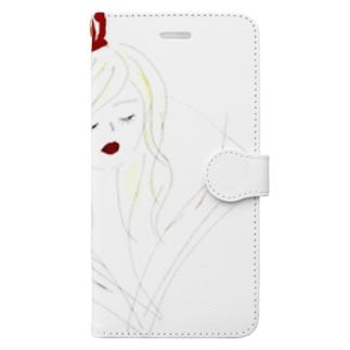 なりたい女 Book-style smartphone case