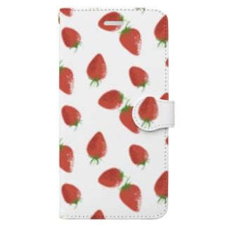 苺 Book-style smartphone case