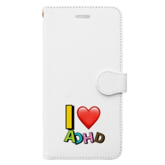 I❤️ADHD Book-style smartphone case