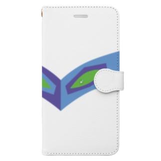 SZK GALLERYのkayanobi7blue Book-style smartphone case