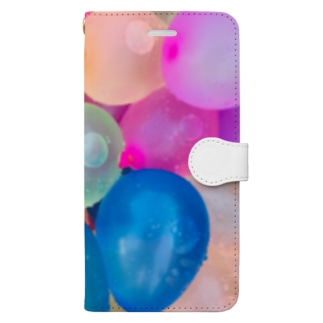 バルーンなアイテム Book-style smartphone case