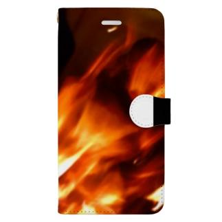 焔 Book-style smartphone case