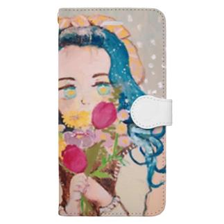 きらきらおめめちゃん Book-style smartphone case