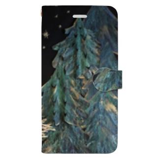 岬森のウサギ Book-style smartphone case