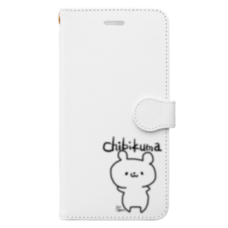 chibikumaのchibikumaちゃん Book-style smartphone case