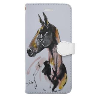 アハル・テケ Book-style smartphone case