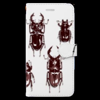 DU⊕の夏の思い出 Book-style smartphone case