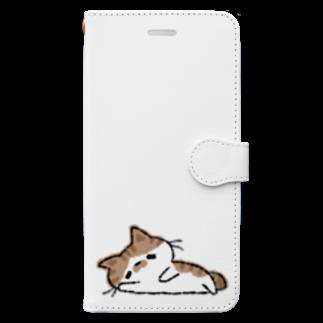 おはまじろうのお店ののんびりダラダラコハマ Book-style smartphone case