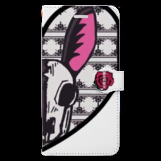 猟奇的彼女の兎 Book-style smartphone case