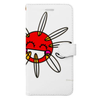 キャラ生み製造機の1. 『たいよう』 Book-style smartphone case