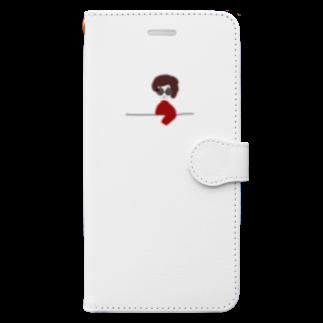 BUDDY-BUDDYのマダム Book-style smartphone case