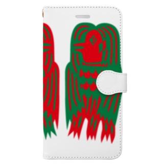 SZKアマビエ Book-style smartphone case
