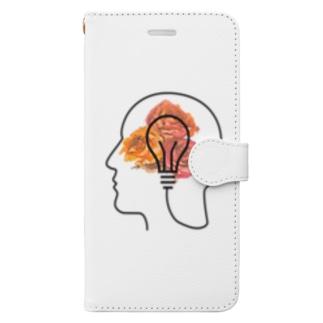 豊かな閃き。 Book-style smartphone case
