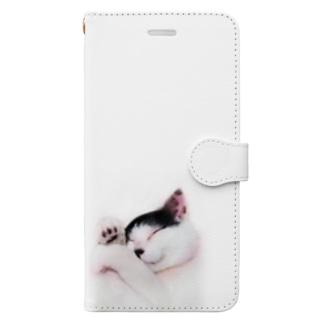 にゃん太 Book-style smartphone case