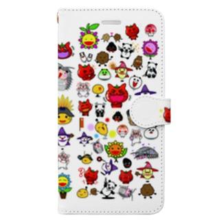 手帳型スマホケース(iPhone X) Book-style smartphone case