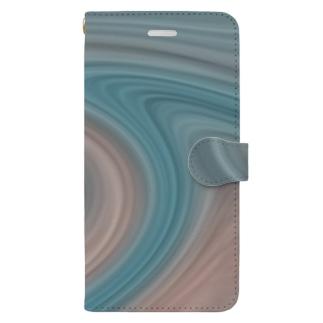 孵爛カラー Book-style smartphone case