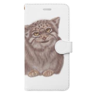 マヌルさん Book-style smartphone case