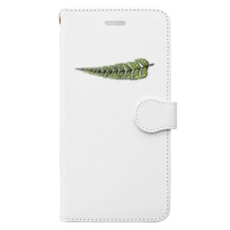 シダ植物 Book-style smartphone case