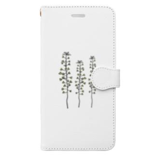 ぺんぺん草 Book-style smartphone case