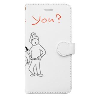 3人ズ Book-style smartphone case