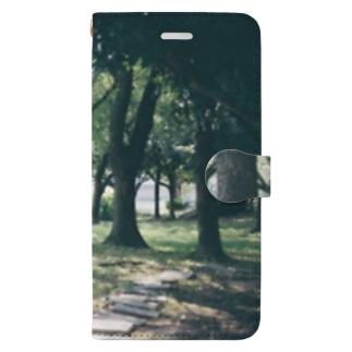 森おじさん Book-style smartphone case