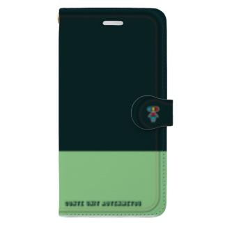 iPhone11用 ワンポイント Book-style smartphone case