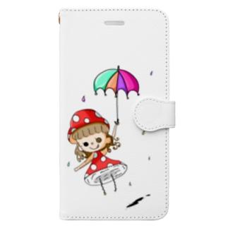 唯一の友達 Book-style smartphone case