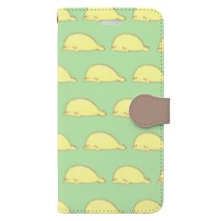 もっちもちあざらし Book-style smartphone case