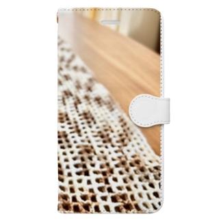癒し Book-style smartphone case