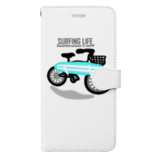 SURFING LIFE Book-style smartphone case