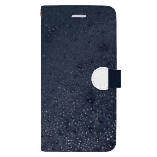 maco_のアワアワ君 Book-style smartphone case